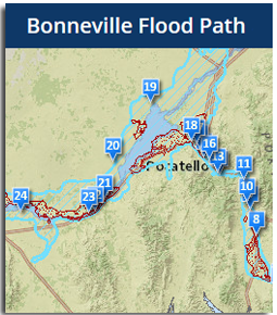 Bonneville Flood Path
