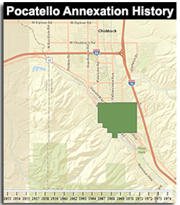 Pocatello Annexation History