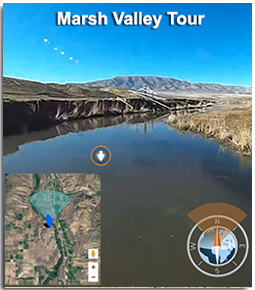 Virtual Tour of Marsh Valley, Idaho