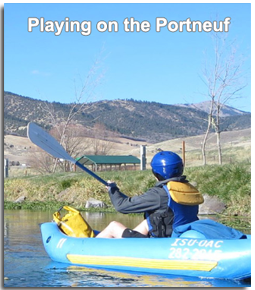 Playing on the Portneuf