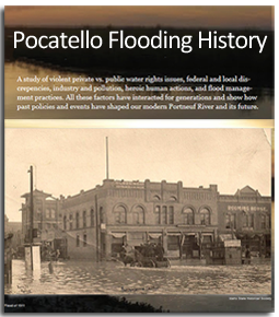 Pocatello Flooding Timeline